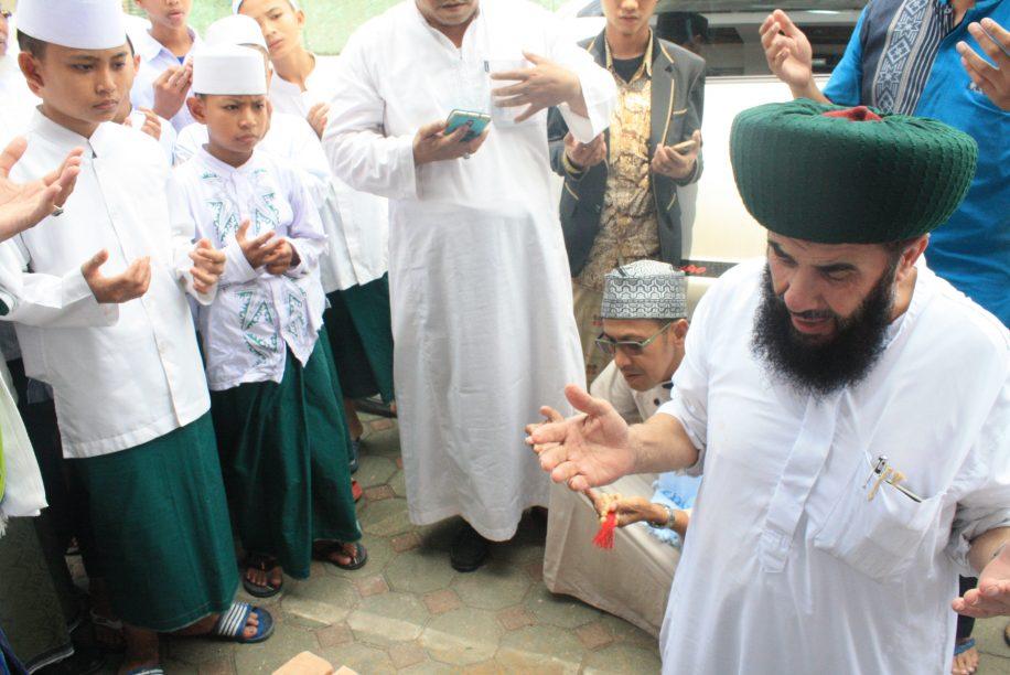 Kunjungan Assayyid Amin Al Jailani & Peletakan Batu Pertama