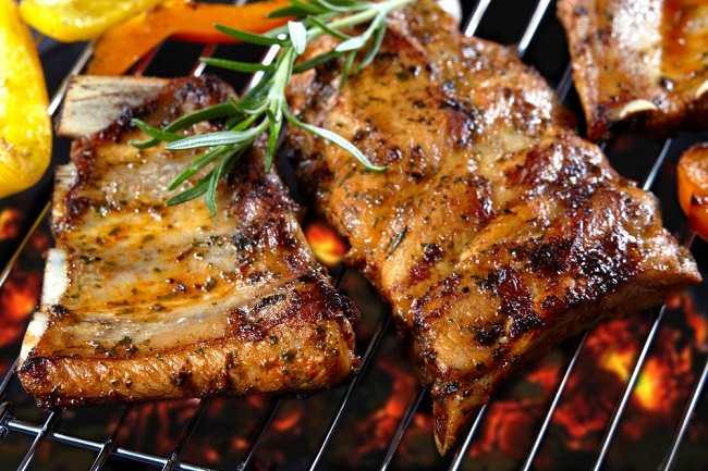 Daging Babi yang Termakan